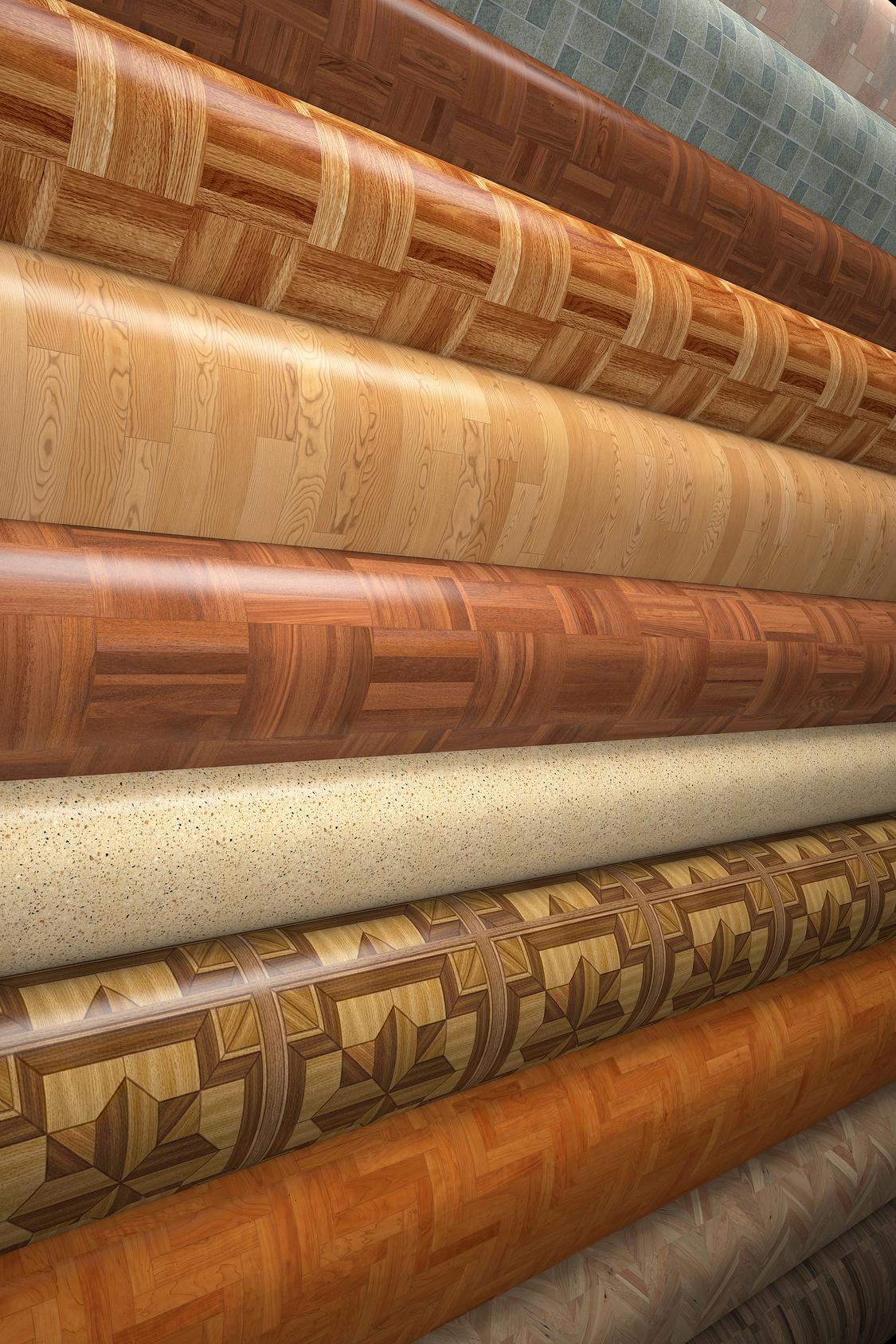 Elastische Bodenbeläge - Vielfalt in Material und Design ...